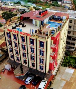 A bird's-eye view of Safyad Hotel