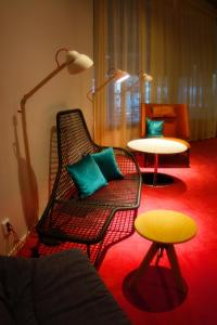 A seating area at Bo Hotel