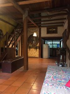 O lounge ou bar de Baianeiro Hostel