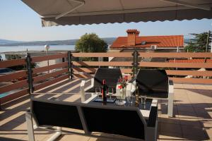 A balcony or terrace at Langhams 58