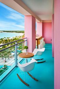 A balcony or terrace at SLS at Baha Mar