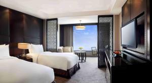 A room at Crowne Plaza New Delhi Mayur Vihar Noida, an IHG Hotel
