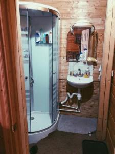 Ванная комната в Дом рядом с водохранилищем