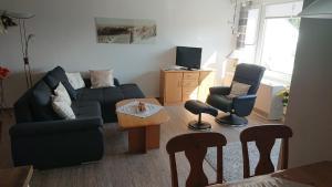 The lounge or bar area at Ferienwohnung Bundkirchen