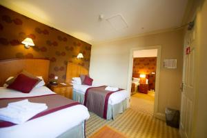 A room at Crown & Mitre Hotel