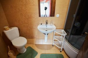 A bathroom at U Tetyany