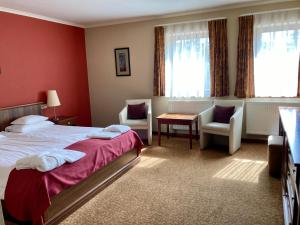 A room at Hotel Bassiana