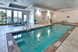The swimming pool at or near SpringHill Suites by Marriott Wichita Airport