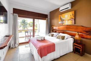 A room at Vila Coqueiros Boutique Hotel