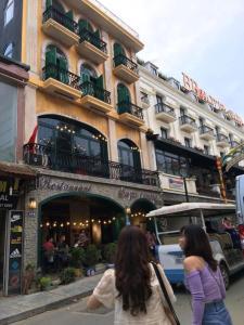 Mặt tiền/cổng chính của Sapa Centre Hotel