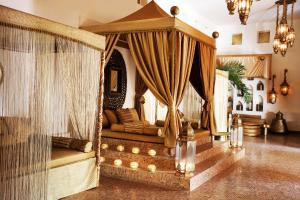 A seating area at Baraza Resort and Spa Zanzibar