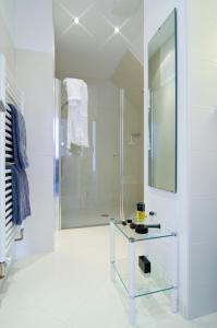 Ein Badezimmer in der Unterkunft Haus Berghoff