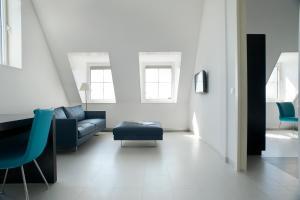 Een zitgedeelte bij Inntel Hotels Amsterdam Zaandam