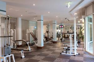 The fitness center and/or fitness facilities at City Hotel Dresden Radebeul