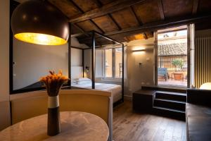 Salon ou bar de l'établissement Hotel Smeraldo