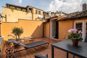 Terrasse ou espace extérieur de l'établissement Hotel Smeraldo