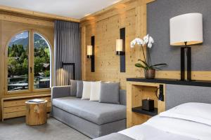 Area soggiorno di Park Gstaad