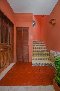 The facade or entrance of Hacienda San Miguel Hotel & Suites