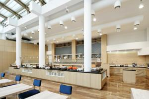 A restaurant or other place to eat at Fairfield by Marriott Sapporo