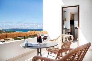 A balcony or terrace at Gaviota - Formentera Vacaciones Adults Only