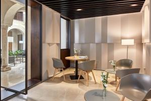 A seating area at Hotel Posada del Lucero