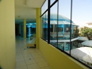 A balcony or terrace at Arenas Hotel & Spa