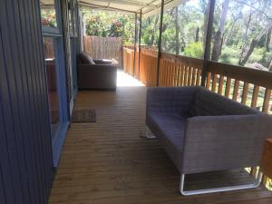 A balcony or terrace at Grampians Nest