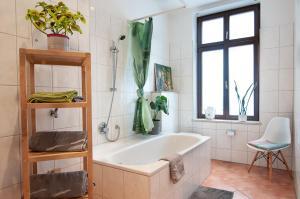 Ein Badezimmer in der Unterkunft Leipzig Flats