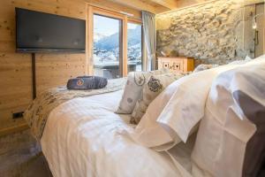 A room at Ferme de Coutettaz