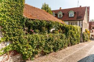 A garden outside Gasthof & Weingut zum Stern