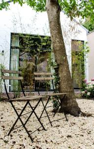 Een patio of ander buitengedeelte van Oscar