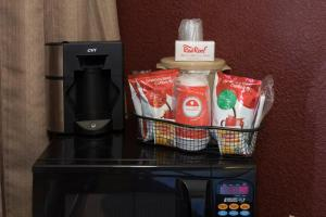 Coffee and tea-making facilities at Red Roof Inn West Monroe