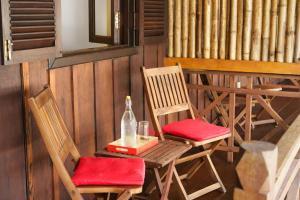 Ein Restaurant oder anderes Speiselokal in der Unterkunft Sok San Beach Resort