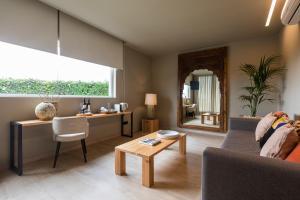 A área de bar ou lounge em Quinta da Abelheira