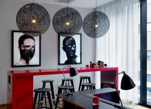 A restaurant or other place to eat at citizenM Glasgow