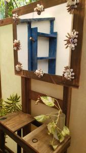 Uma varanda ou outra área externa em tifaifai et cafe Uta