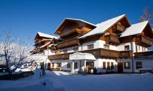 Hotel Schröckerhof v zimě