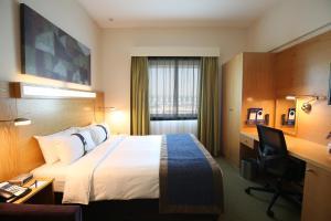 A room at Holiday Inn Express Dubai Airport, an IHG Hotel