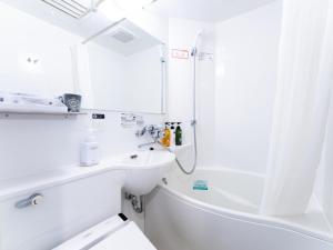 A bathroom at APA Hotel SHIN-OSAKA MINAMIKATA EKIMAE