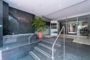 The lobby or reception area at ARTIEM Capri
