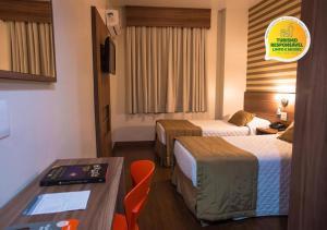 A room at Hotel Continental Business - 200 metros do Complexo Hospitalar Santa Casa