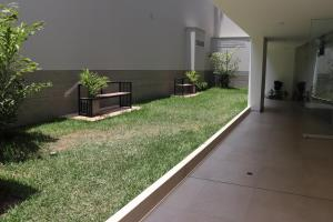 A patio or other outdoor area at Cayma Apart's V