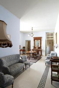 The lounge or bar area at Residenza d'Epoca Regina d'Arborea