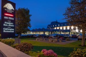 Jardin de l'établissement Flannery's Hotel