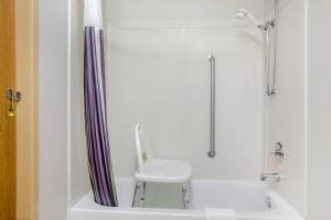 A bathroom at La Quinta by Wyndham Springfield South