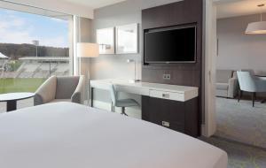 A room at Hilton at the Ageas Bowl, Southampton