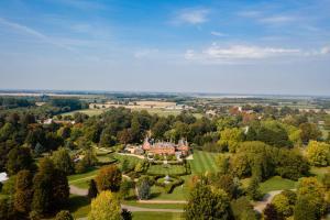 A bird's-eye view of Chippenham Park Garden Rooms