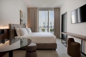 A room at J Hotel