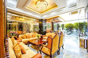 The lounge or bar area at Saigon Hanoi Hotel