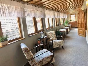 Lounge alebo bar v ubytovaní Maria Penzion & Restaurant